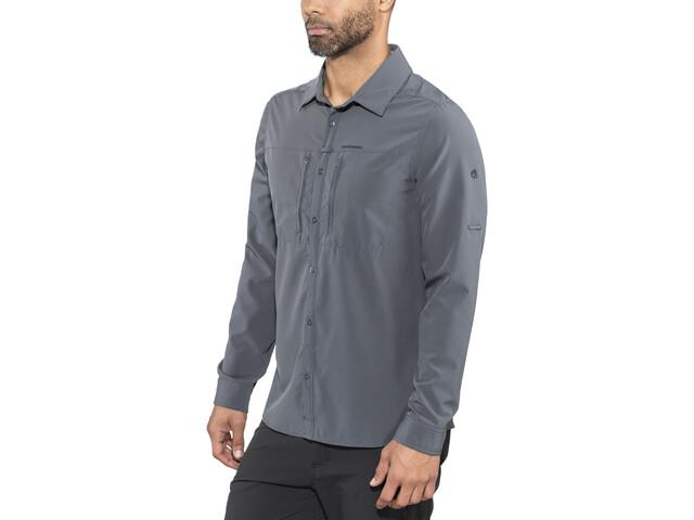 Craghoppers NosiLife Pro III T-shirt à manches longues Homme, ombre blue